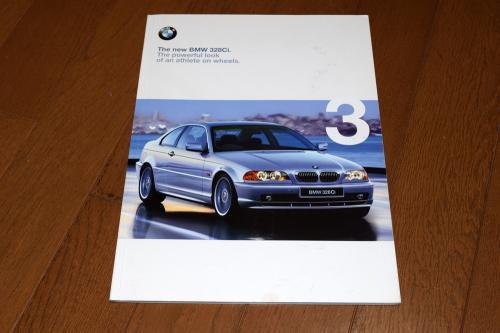 BMW E46 発売当初のカタログ
