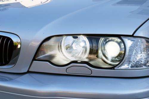 BMW E46 キセノンライト、ハイビーム点灯状態確認