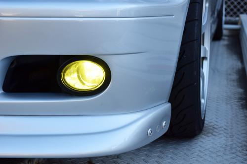 BMW E46 M3 フォグランプLED点灯