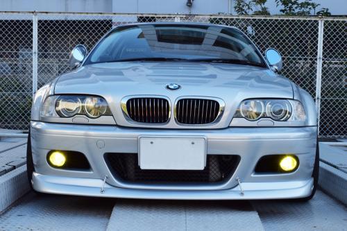 BMW E46 M3 LEDフォグランプ点灯