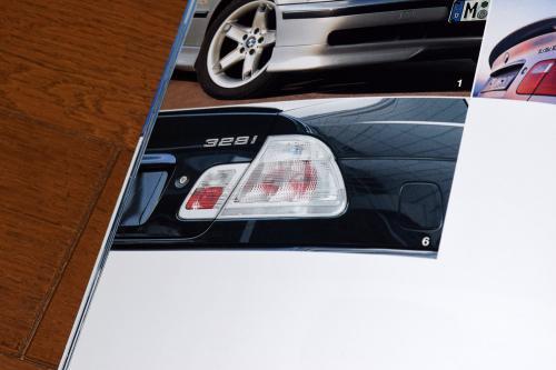 BMW E46セダン 全面クリアテールライト(BMW純正カタログより)