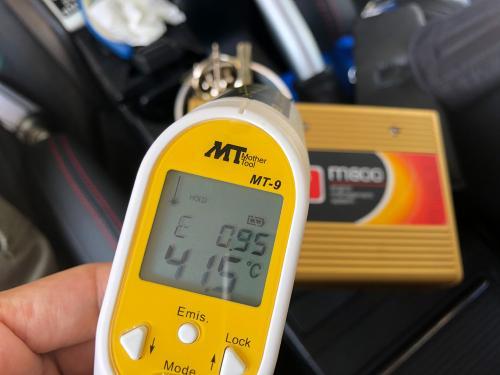 Motec本体の温度