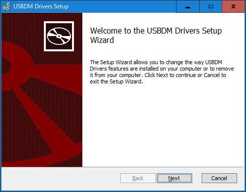 USBDM USBドライバーのインストール