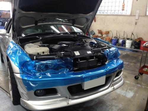 VANOSユニット交換(BMW E46)