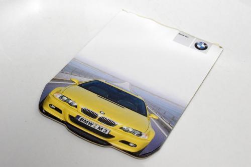 BMW E46 M3 メモ帳