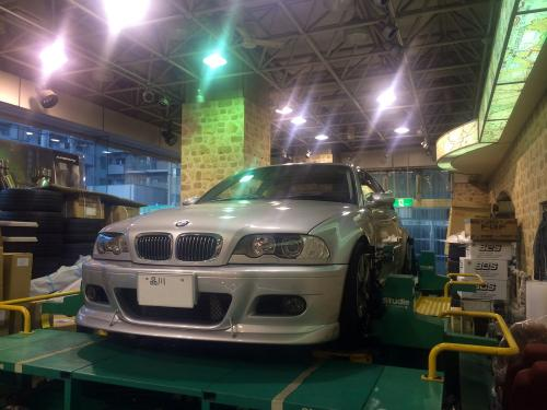 Studie横浜 G-SWAT BMW E46 328ci