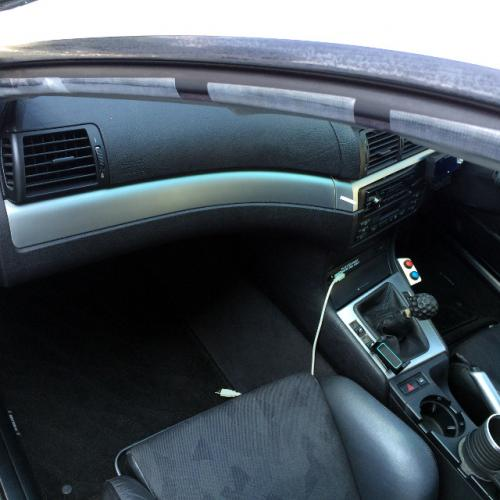 BMW E46 クーペ ドア内側モール