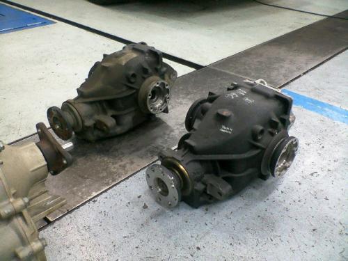 BMW E46 MTコンバート デフギア比較