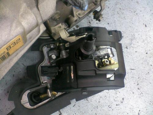 BMW E46 MTコンバート 取り外したオートマチックトランスミッションシフトレバー