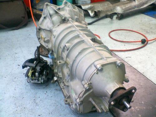 BMW E46 MTコンバート 取り外したオートマチックトランスミッション