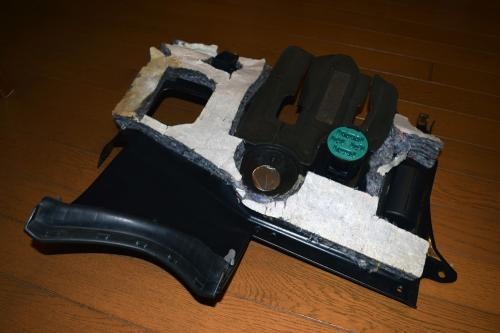 BMW E46 トリムパネル ペダル装置