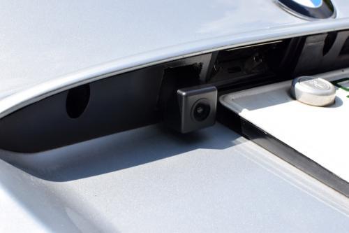 BMW E46 トランク取っ手へカメラの仮組