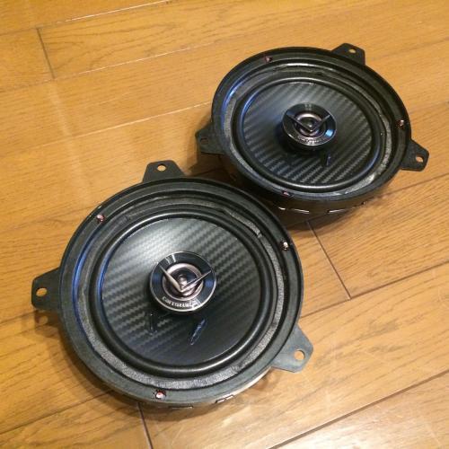 BMW E46 純正スピーカーを再利用したインナーバッフル