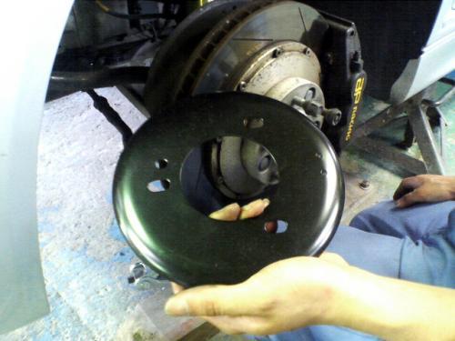 BMW E46 BMW純正 strut reinforcement plate